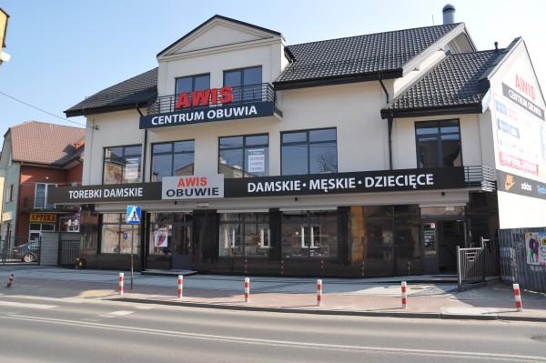 Awis obuwie siedziba firmy Wołomin ul.Wileńska 38A